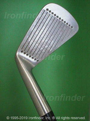 Face side of MacGregor Nicklaus MUIRFIELD 20TH Irons head