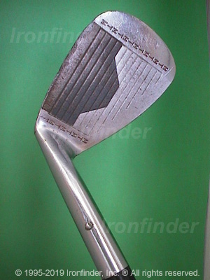 Face side of MacGregor MT Tourney RMT1 Irons head