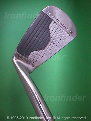 Face side of MacGregor MT Tourney RMT2 Irons head