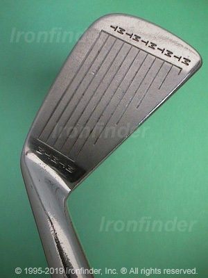 Face side of MacGregor M T by MacGregor RT1 (split sole) Irons head