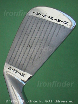 Face side of MacGregor M T by MacGregor RT2 (std sole) Irons head