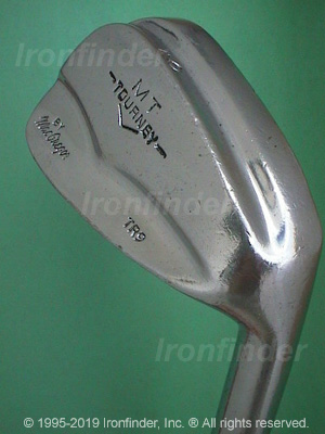 Back side of MacGregor MT TOURNEY TR1 (Step sole) Irons head - the primary means to identify a club