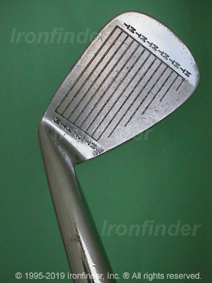 Face side of MacGregor MT TOURNEY TR1 (Step sole) Irons head