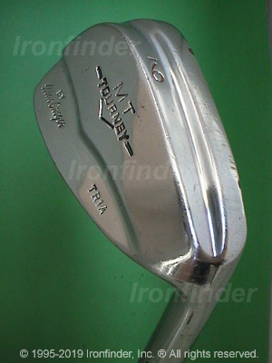 Back side of MacGregor MT TOURNEY TR1A (Step sole) Irons head - the 
