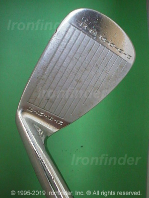 Face side of MacGregor MT TOURNEY TR1A (Step sole) Irons head