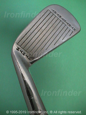 Face side of MacGregor MT TOURNEY TR2A (step sole) Irons head
