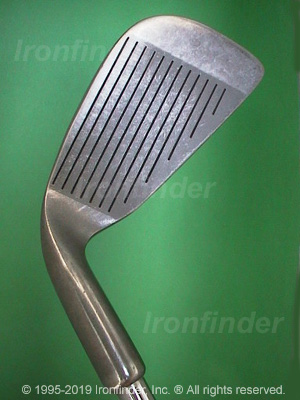 Face side of MacGregor CG1800 Irons head