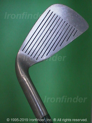 Face side of MacGregor CG1800CS Irons head