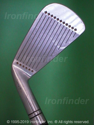 Face side of MacGregor JNP Forged in USA Irons head