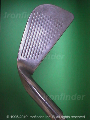 Face side of Ping Karsten I (Pat. Pend. no dot) Irons head