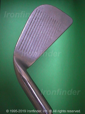 Face side of Ping Karsten I (Patent No. with dot) Irons head