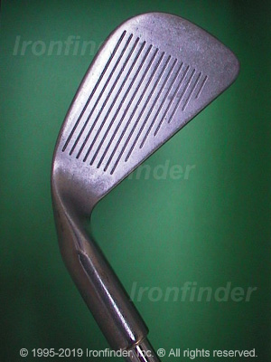 Face side of Ping Karsten II Irons head
