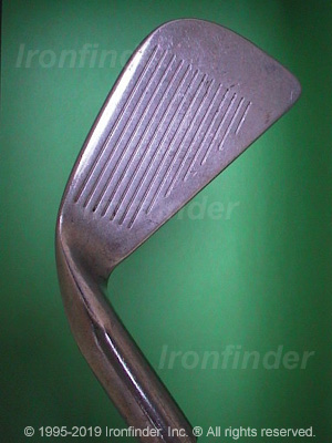 Face side of Ping Karsten III Irons head