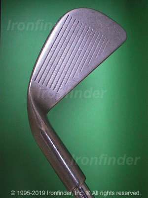 Face side of Ping Eye (Patented) Irons head
