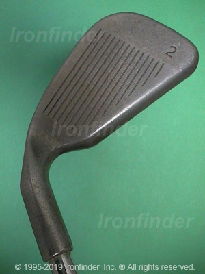 Face side of Ping Zing Irons head