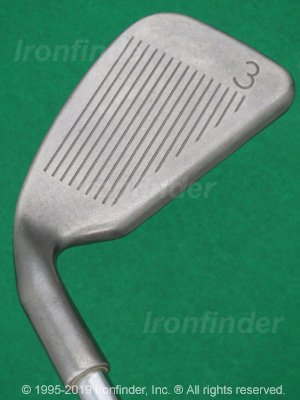Face side of Ping Zing 2 Irons head