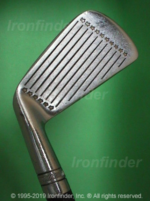 Face side of Wilson DYNAPOWER Staff Irons head
