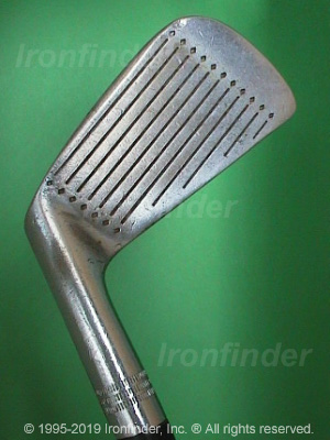 Face side of Wilson DYNA-POWER Staff Irons head