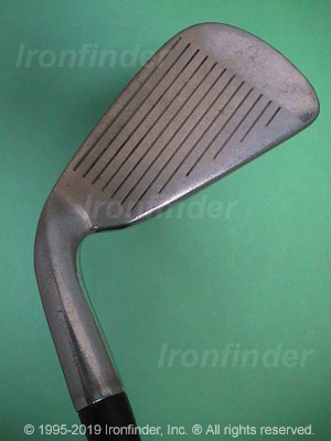 Face side of RAM Laser Fx Forged Irons head
