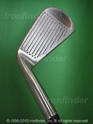 Face side of Spalding Gene Littler synchro-dyned Irons head