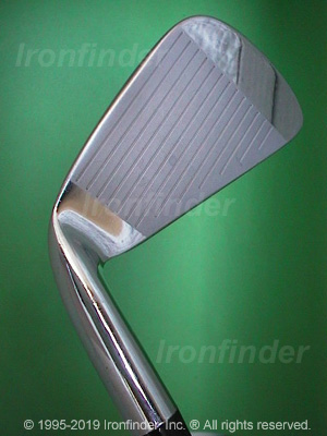 Face side of RAM FX2 FORGED Irons head