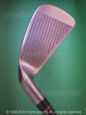 Face side of Callaway S2H2 USA PAT PEND Irons head