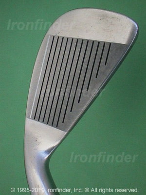 Face side of Mizuno Wings (logo in cavity) Irons head