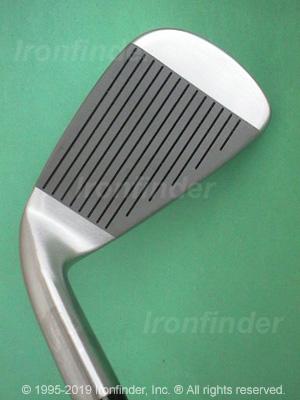 Face side of RAM Fx Tour Grind Custom Nickel Cavity Irons head