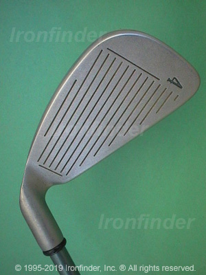 Face side of Callaway Big Bertha Irons Ladies Irons head