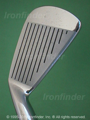 Face side of Mizuno MP-11 Irons head