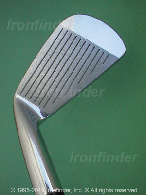 Face side of Mizuno MP-14 Irons head