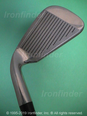 Face side of RAM Laser Zx Freq. Match (chrome) Irons head