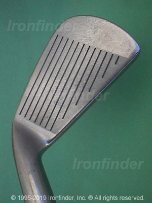 Face side of Mizuno TC29 Irons head