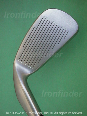 Face side of Cobra Gravity Back Irons head