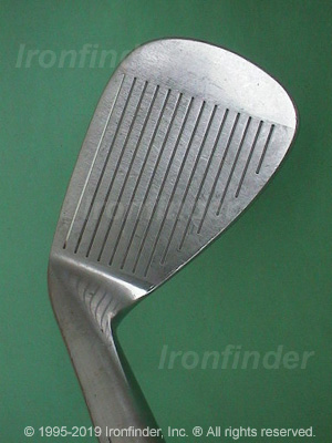 Face side of Cleveland Tour Action TA3 Silver Irons head