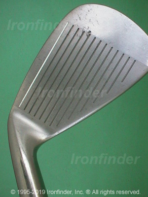 Face side of Cleveland Tour Action TA4 Irons head