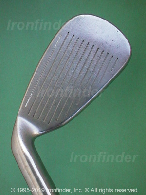 Face side of Cleveland Tour Action TA5 Gold Irons head