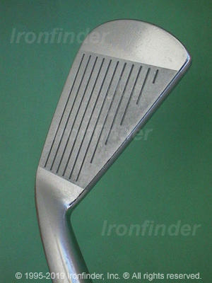 Face side of Mizuno T Zoid Pro Irons head