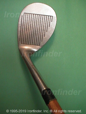 Face side of Callaway Hickory Stick Wedges Irons head