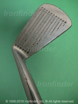 Face side of MacGregor DX1 V.I.P. Irons head
