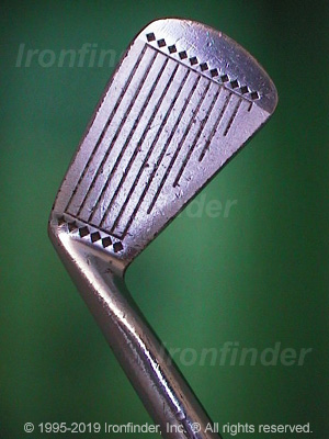Face side of MacGregor DX Tourney DX9 Irons head
