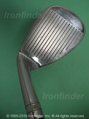 Face side of Wilson Harmonized Wedges Irons head