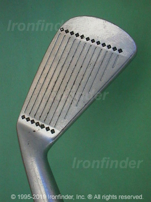 Face side of Cleveland Tour Action Reg. 588 Sq. Groove Irons head