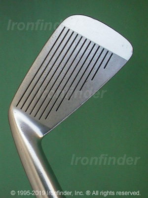 Face side of Mizuno MP-7 Irons head