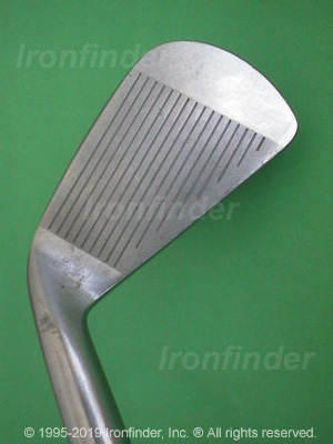 Face side of MacGregor VIP Oversize CB95 Irons head