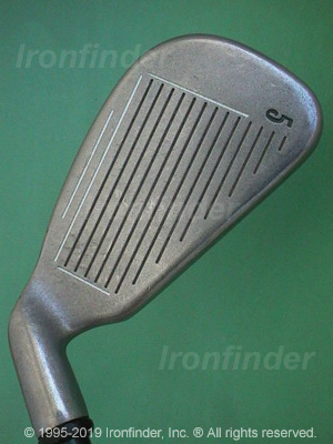Face side of Callaway Big Bertha X-12 Ladies Irons head
