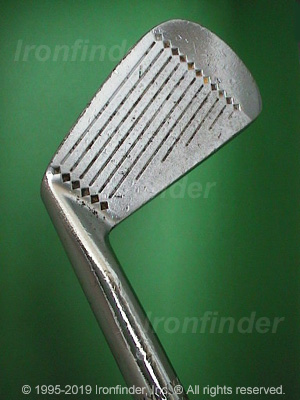 Face side of MacGregor Tommy Armour (SILVER SCOT) A1 Irons head
