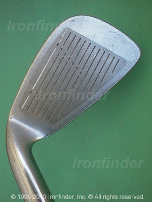 Face side of Mizuno T Zoid Titanium Insert T3 Oversize Irons head