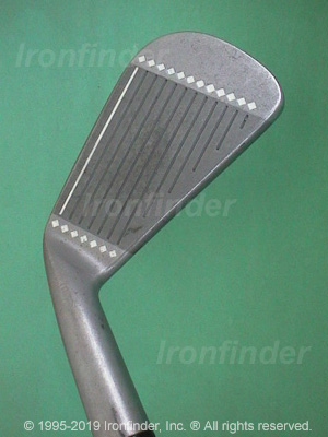 Face side of Cleveland Tour Action Reg. 588 Irons head