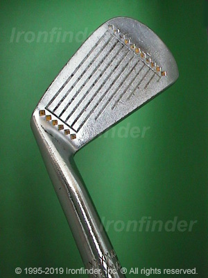 Face side of MacGregor AT2 VFQ (Plain Face) Irons head
